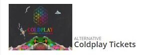 2 x COLDPLAY TICKETS SEATED-13th DEC 2016 URGENT SELL!!! Thornleigh Hornsby Area Preview