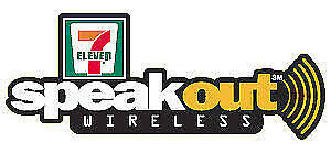 Speakout 7/11 Sim Card with $57 balance for $40