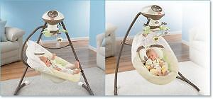Fisher price sungbunny swing