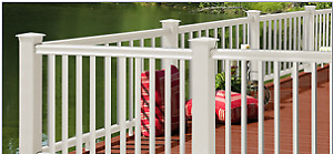 Timbertech Radiance Rail Antique  White Balusters - BRAND NEW