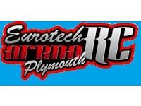 eurotech RC arena plymouth sponsored by RC everything plymouth