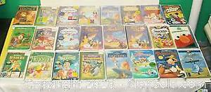 24 Assorted VHS Movies - Mostly DISNEY - Some Sealed