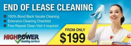 End Of Lease Cleaning Melbourne -From $199.00