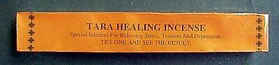 Tibetan Tara Healing Incense 25 6 Inch Sticks for Healing/Meditation