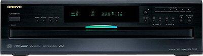 Open-Box: Onkyo - 6-Disc CD Player - Black