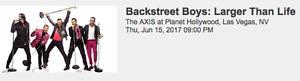 Backstreet Boys in Vegas