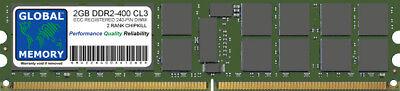 2GB DDR2 400MHz PC2-3200 240-PIN ECC REGISTERED RDIMM SERVER/WORKSTATION RAM 2R ()