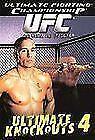 UFC DVD Lot