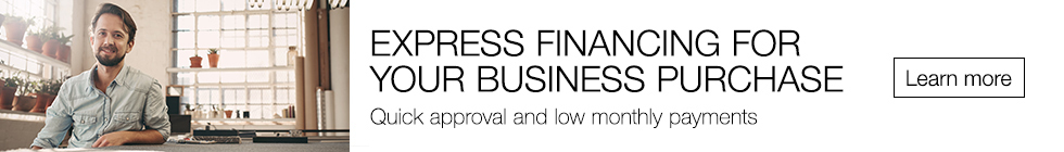 Express Financing For Your Business Purchase | Quick approval and low monthly payments | Learn more