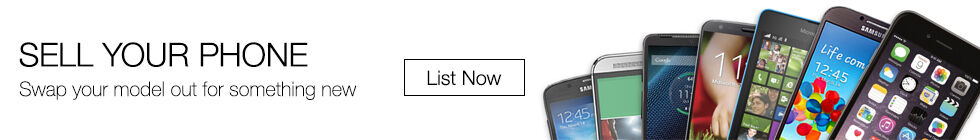 Sell Your Phone | Swap your model out for something new | List now