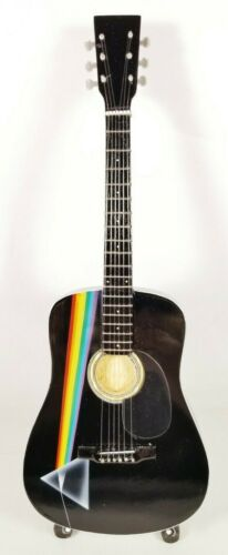 Pink Floyd Dark Side of the Moon Tribute Guitar with Stand - FLOYD2