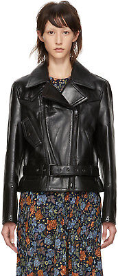 NEW Acne Studios leather biker jacket NWT $1650 AUTHENTIC Size 32 XS
