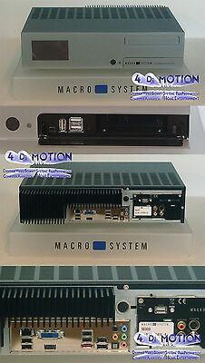 MacroSystem Casablanca S-6000 - Bogart 9 (Gold) - Ara7 -2000GB- Werksgarantie !!