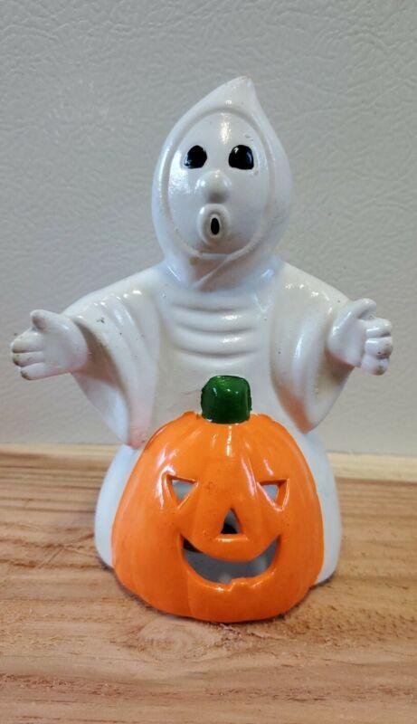 Vintage Ghost With Pumpkin Jack O
