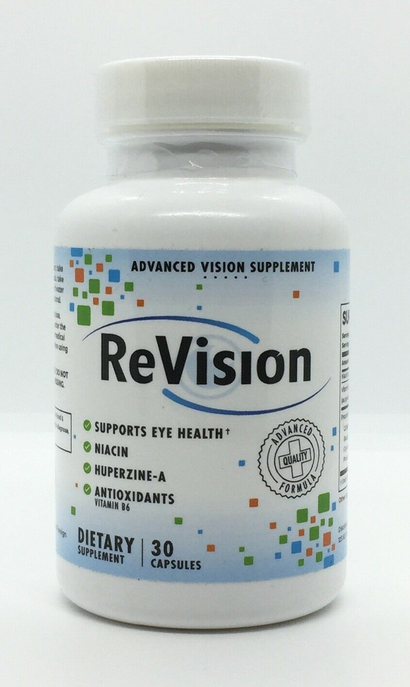 ReVision Advanced Vision Supplement Supports Eye Health NEW