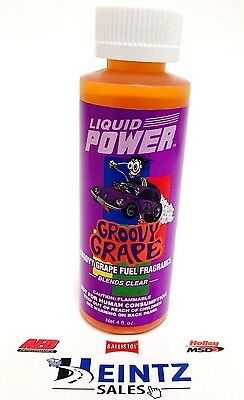 Power Plus Lubricants Groovy Grape Fuel Fragrance for Car, Motorcycle, ATV, IMCA