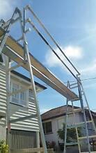 Painters Trestles 12 ft aluminium double planks & safety rails Coorparoo Brisbane South East Preview