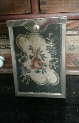 "Vintage Retro ""A Gold Tone Product"" Cigarette Pack Case"