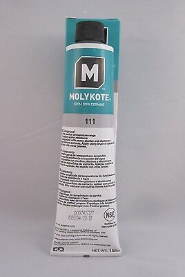 New   Dow Corning 111 Valve Lubricant And Sealant   Dc111 5Oz   5 3Oz Tube