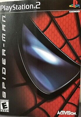 Spiderman PS2 PlayStation 2 Complete