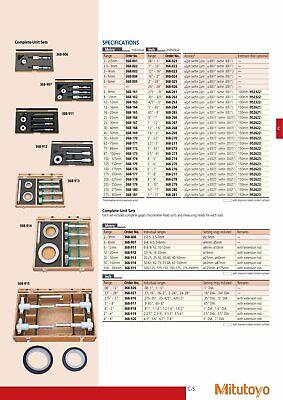 Mitutoyo 368-919 Holtest Vernier Inside Micrometer Set 2-4