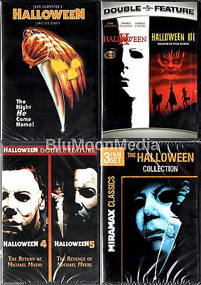 Halloween 1-8 DVD Collection lot 1 2 3 4 5 6 7 8 Original Series Set NEW