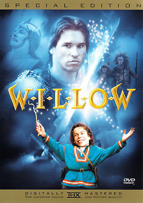 Willow (1988) - Val Kilmer DVD *NEW