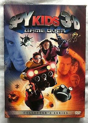 Spy Kids 3-D Game Over DVD (Comes with 3-D Glasses, 2-D DVD - Spy Kids Glasses