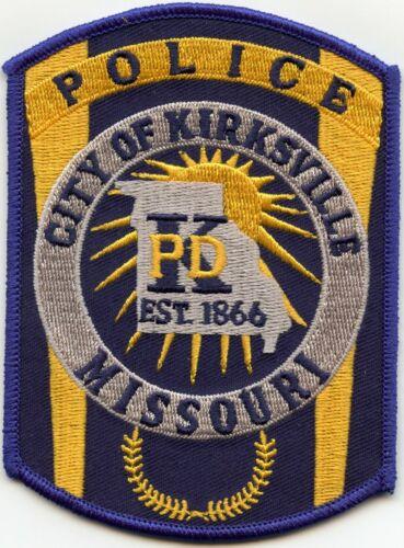 KIRKSVILLE MISSOURI MO POLICE PATCH