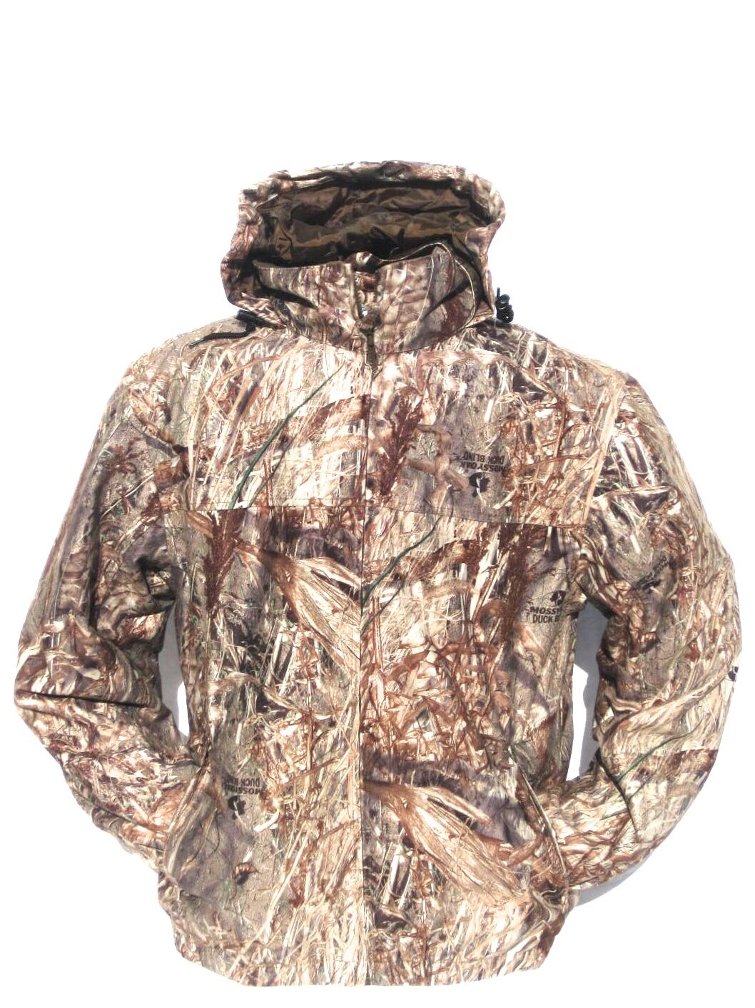 Cabela's Mossy Oak DUCKBLIND Waterfowler Pro Waterproof Windproof Hunting Jacket