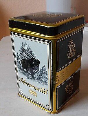 Alte Zigarillodose RuC Schwarzwild Nr. 60 25 Zigarren