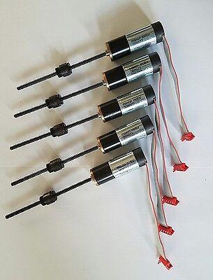 5x MAXON Getriebemotor + Encoder + Spindel und Spindelmutter