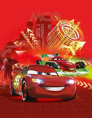 isney Cars Neon 130x170cm Polyester Fleecedecke Geschenk (Geschenke Disney)