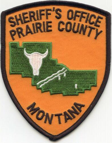 PRAIRIE COUNTY MONTANA MT SHERIFF POLICE PATCH