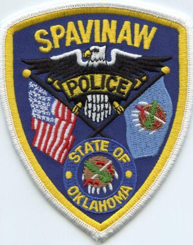 SPAVINAW OKLAHOMA OK Baseball Player Mickey Mantle Birthplace POLICE PATCH