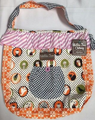 NEW Matilda Jane Something Brewing Bag Joey Halloween Treat Bag NWT 2 4 6 8](Halloween Joey Bag)