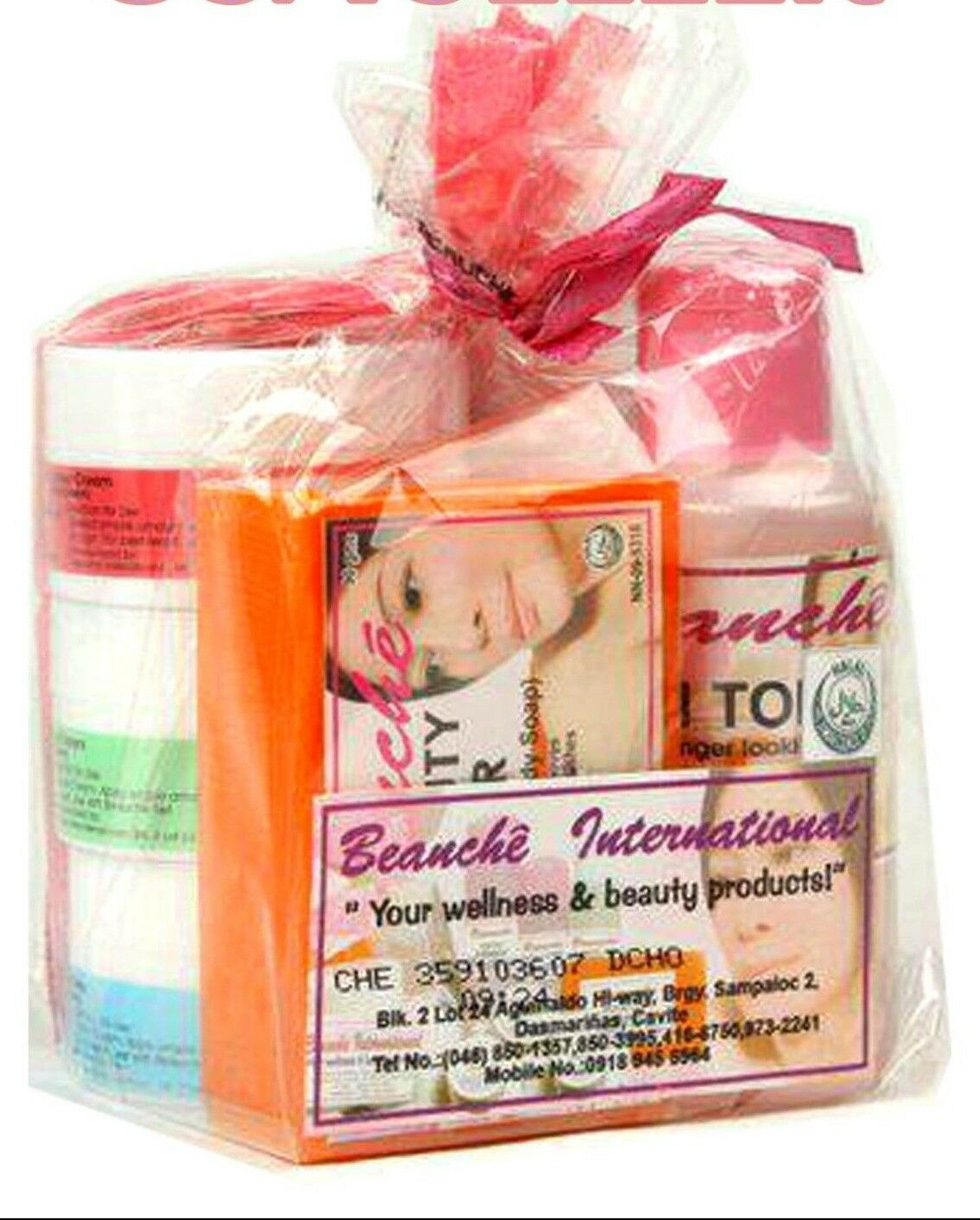 BEAUCHE INTERNATIONAL BEAUTY SET 6 PIECE SKIN CARE FRESH USA SELLER FREE Ship