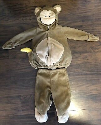 OLD NAVY MONKEY PLUSH 2 PIECE HALLOWEEN COSTUME 12-24 Months](12 Month Monkey Costume)
