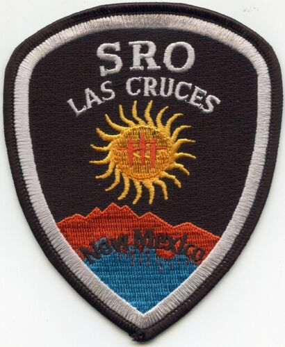 LAS CRUCES NEW MEXICO NM School Resource Officer SRO POLICE PATCH
