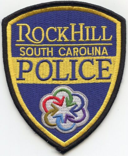 ROCK HILL SOUTH CAROLINA SC colorful POLICE PATCH