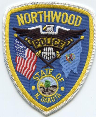 NORTHWOOD NORTH DAKOTA ND POLICE PATCH
