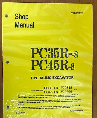 Komatsu Service Pc35r-8 Pc45r-8 Shop Manual 2