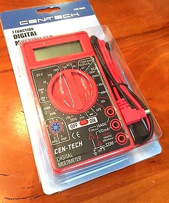 cen tech automotive meter 95670 manual