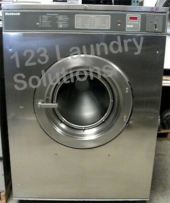 Huebsch Front Load 80 Lbs Washer 208-240v Stainless Steel Hc80vxvqu60001