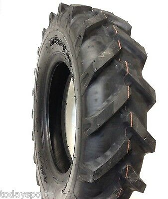One 6.00-14 6-14 R1 Tractor Tire Lug Demolition Implement