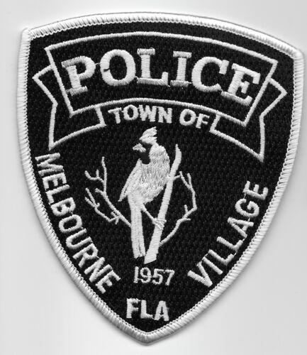 Melbourne Village Police State Florida FL