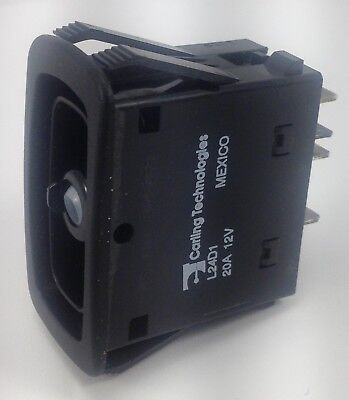 Rocker Switch Carling Technologies L24d1hhh1 Double Pole On - On