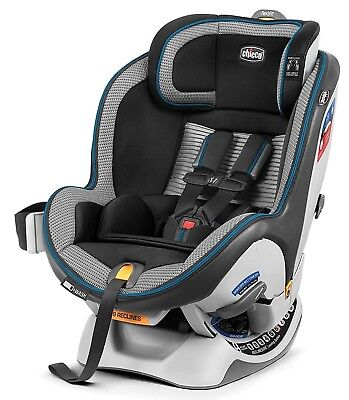 Chicco NextFit Zip Air Convertible Child Safety Baby Car Seat Azzurro