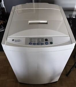 Apt-size GE Spacemaker portable WASHER with wheels/..canDeliver
