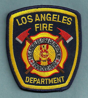 LOS ANGELES CITY CALIFORNIA FIRE DEPARTMENT PATCH